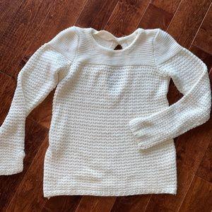 Zara White Knit Sweater